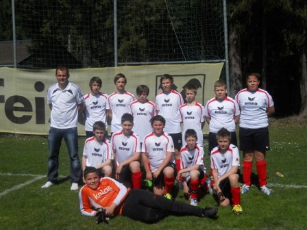 Neues Mannschaftsfoto U14
